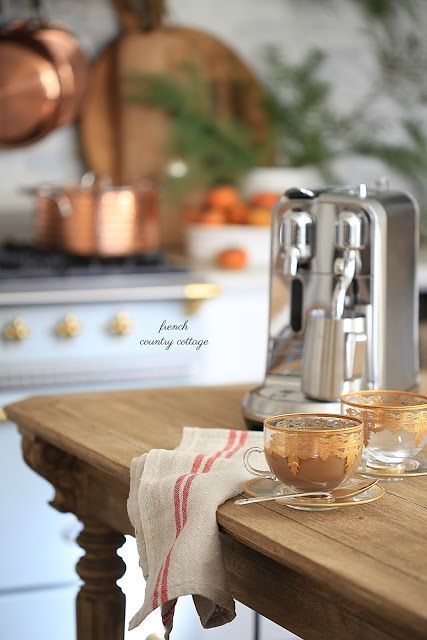 Coffee, kitchen gift ideas and a peek -  I am one of those girls who loves espresso...        A delicious little cup of that bold coffee will do anytime-   and of course,   the ...
