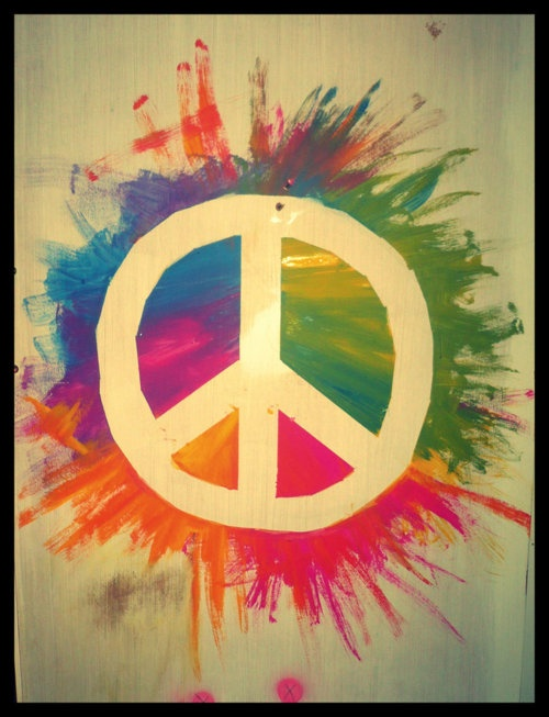 ALL WE ARE SAYING IS GIVE PEACE A CHANCE!