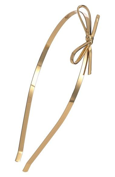 kate spade new york skinny mini metal headband available at #Nordstrom