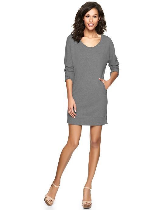 Gap | Terry sweatshirt dress| the teacher in me NEEDS this piece.