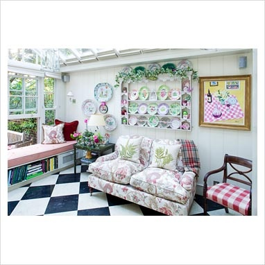 A beautiful and fun sun room.: Special Libraries