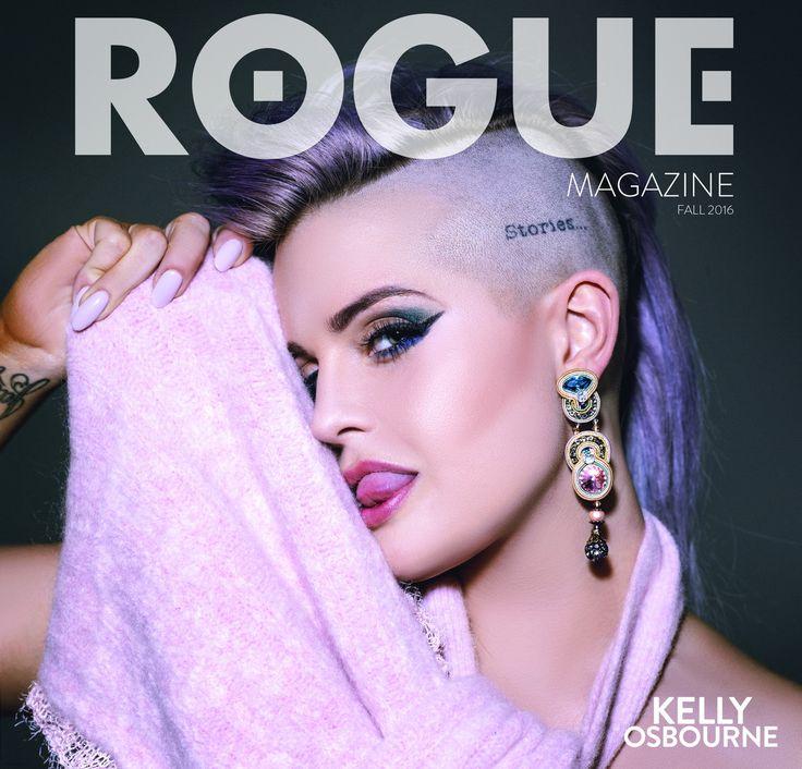 Kelly Osbourne wearing Dori Csengeri on the cover of Rogue Magazine! From October 13 - 19 enjoy 10% off our Elegance earrings. #doricsengeri #kellyosbourne #statementearrings #roguemagazine #fashionmagazine #pastelcolors #pastelearrings