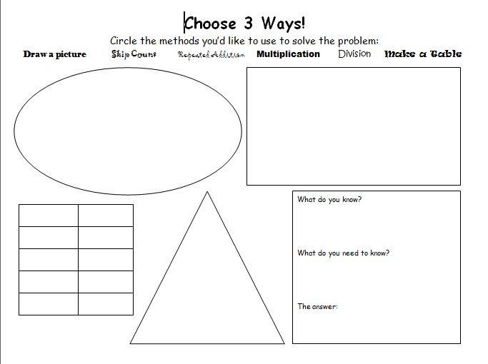 ways to solve math problems