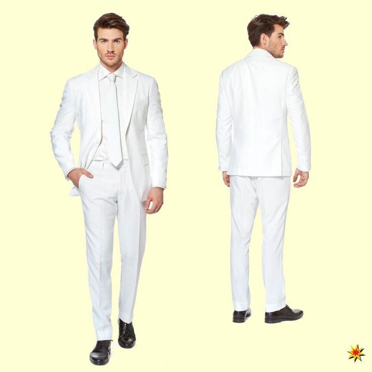 Opposuit White Knight: Ein Anzug in Weiß. #Anzug #Opposuit #Weiß