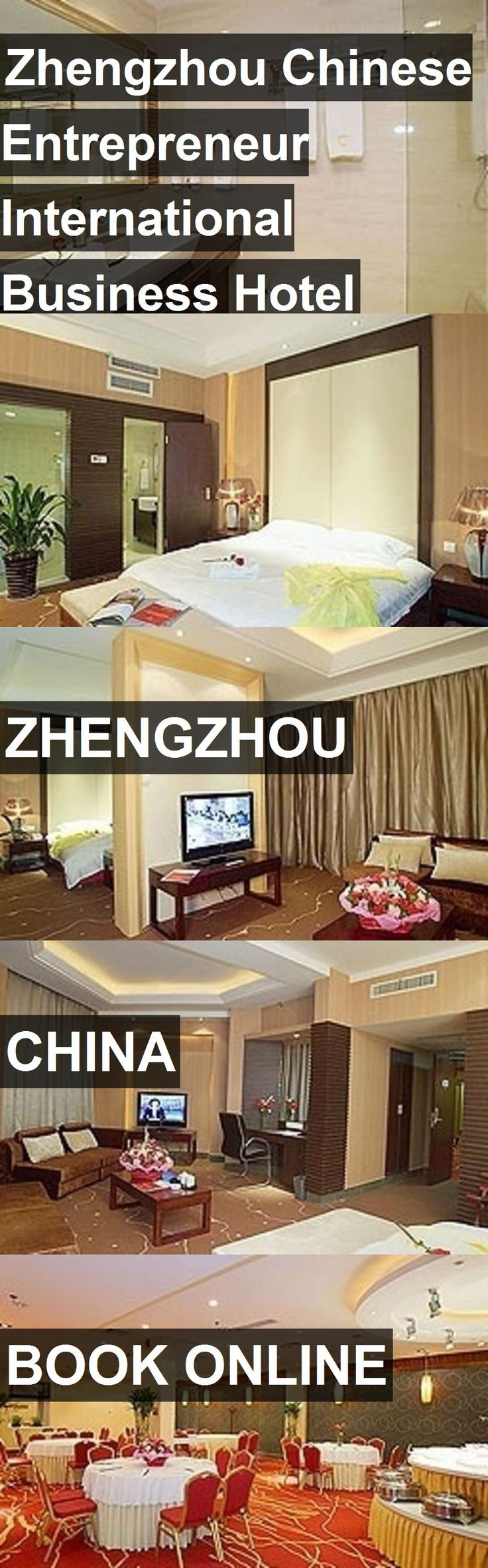 Zhengzhou Chinese Entrepreneur International Business Hotel in Zhengzhou, China. For more information, photos, reviews and best prices please follow the link. #China #Zhengzhou #travel #vacation #hotel