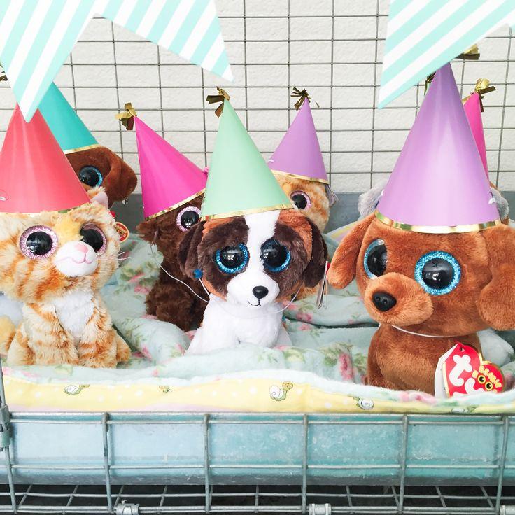 Puppy adoption birthday party. Girls birthday. Nine years old.