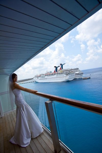 Celebrity Cruise Wedding. Photography by www.IQphoto.com