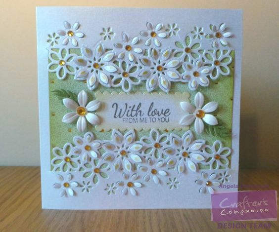 Afbeeldingsresultaat voor crafters companion edge-ables floral dance