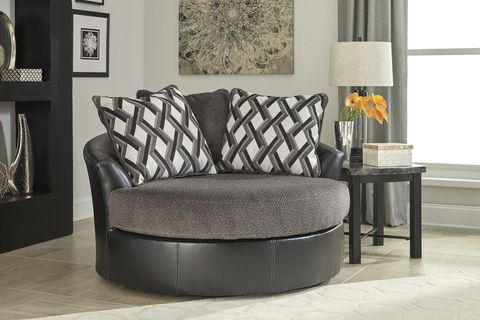 The Kumasi Oversized Swivel Accent Chair Accent Chairs In 2019