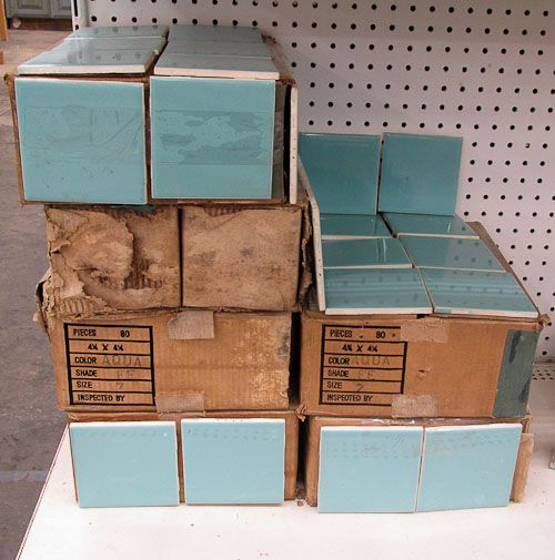 12 places to find 4″ x 4″ ceramic bathroom tile in vintage colors — Retro Renovation