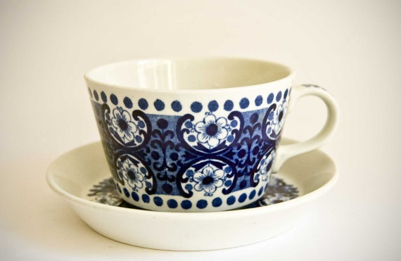 Arabia  Ali  Small Tea Cup by ultralounge on Etsy