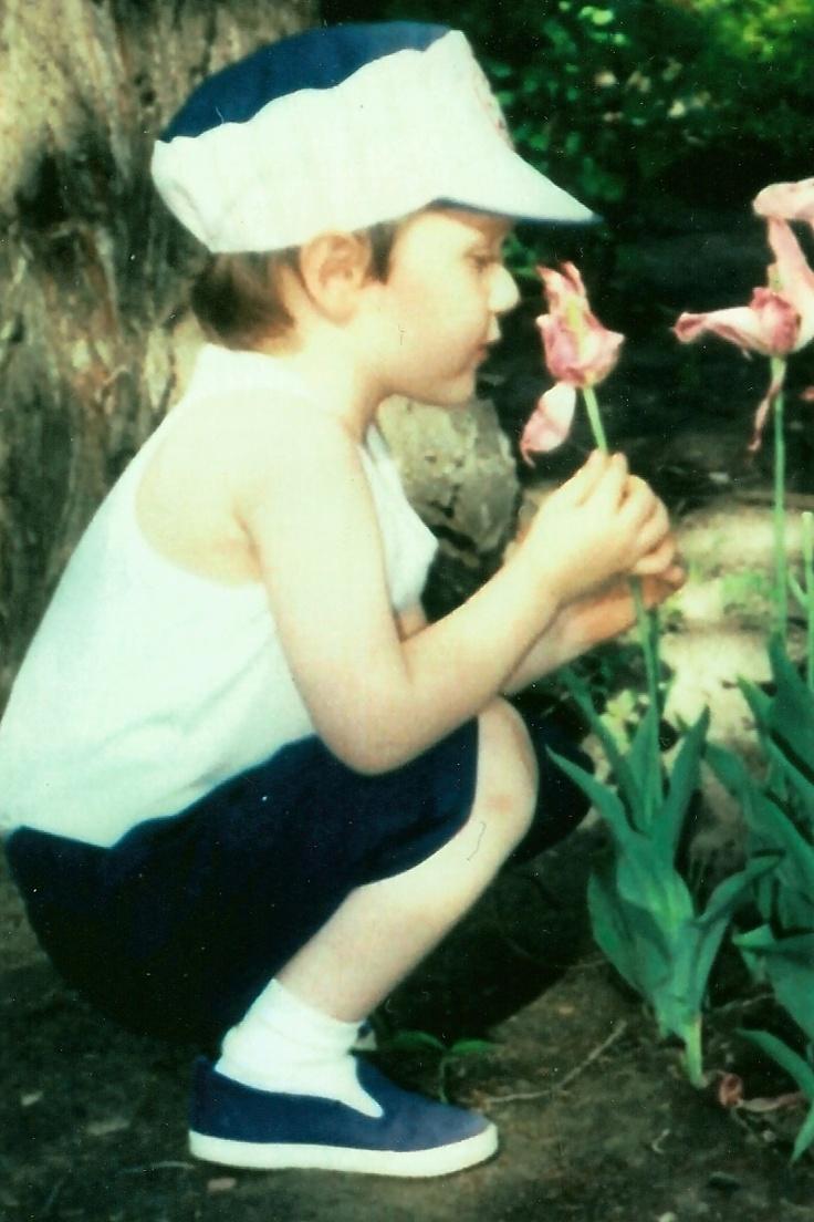 Loving the flowers.