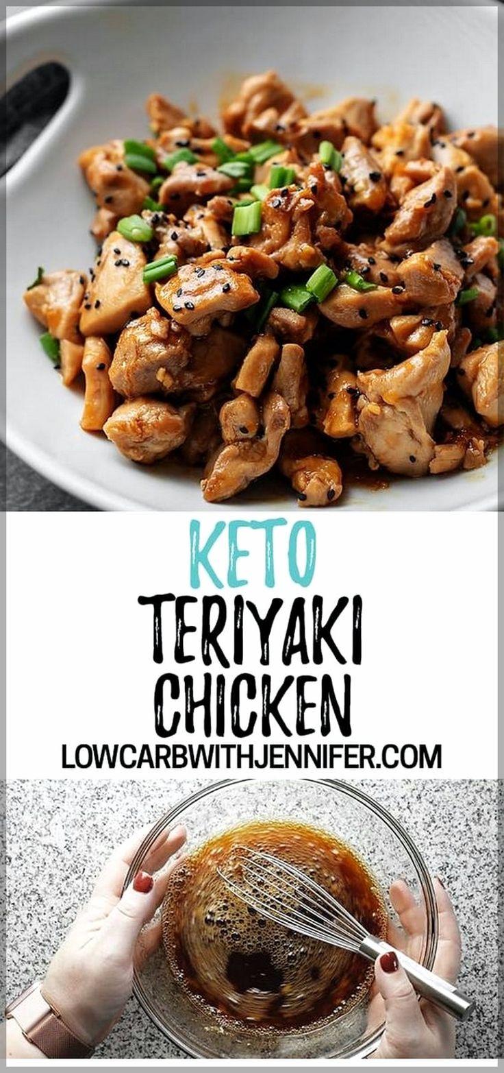 Keto Teriyaki Huhn | Einfache chinesische Rezepte