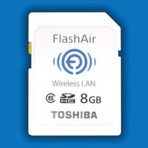 Toshiba FlashAir WiFi SD Card will make your Eye-Fi's water -- Engadget
