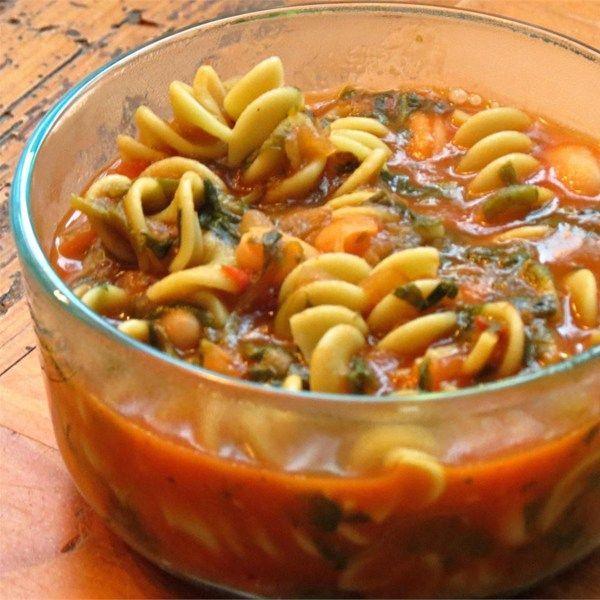 Mediterranean Style Diet Recipes: Pasta Fagioli - Allrecipes.com