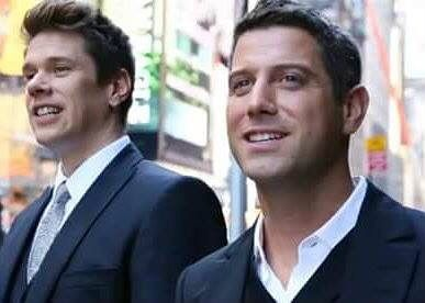 Two Divos for the price of one! Thank you Enni Sarajärvi for sharing this pic to FB #sebsoloalbum #teamseb #sebdivo #sifcofficial #ildivofansforcharity #sebastien #izambard #sebastienizambard #ildivo #ildivoofficial #sebontour #singer #band #music #musician #concert #composer #producer #artist #french #handsome #france #instamusic #amazingmusic #amazingvoice #greatvoice #teamizambard #positivefans