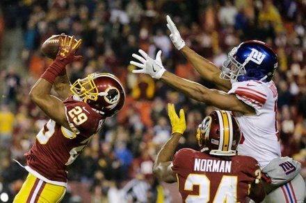 Redskins Outlast Giants in an Ugly Win