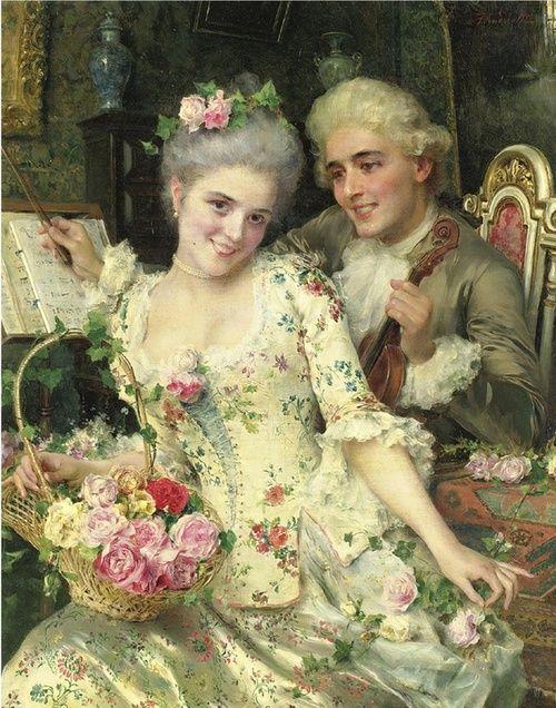 Federico Andreotti (italian painter-1847-1930)