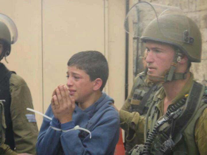 Israeli Policy To terrorize Palestinian children.