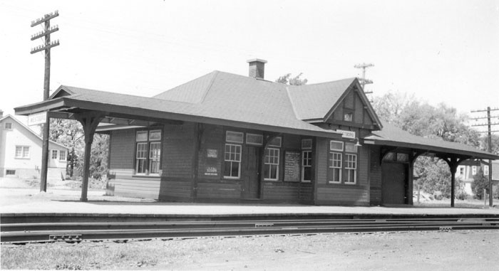 Westboro Station - From the Canada Science and Technology Museum Mattingly collection. Matt-3792. This is dated 1952 with the train order signal removed.