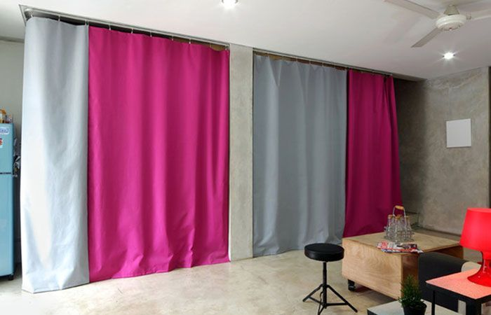Curtain Wall Basement : Best ideas about wall curtains on pinterest