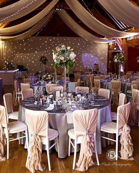 We loved getting creative for a recent wedding at Thorsby Riding Hall, featuring blush, silver and ivory tones😍😍 #weddinginspo #weddinginspiration #weddinggoals #luxurywedding #venuestyling #venuedecor #venuedecoration #weddingstylin