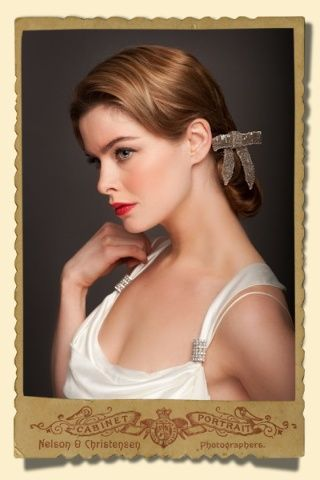 Stacey Hannan Designs - Vintage Style Beaded Bow bridal hair comb, €230.00 (http://www.staceyhannandesigns.com/vintage-style-beaded-bow-bridal-hair-comb/)