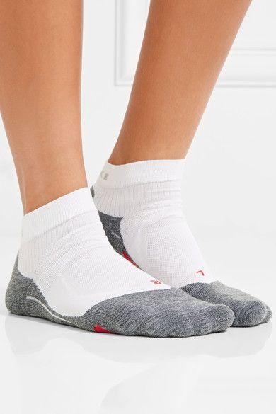 FALKE Ergonomic Sport System - Ru4 Knitted Socks - White - IT39-40