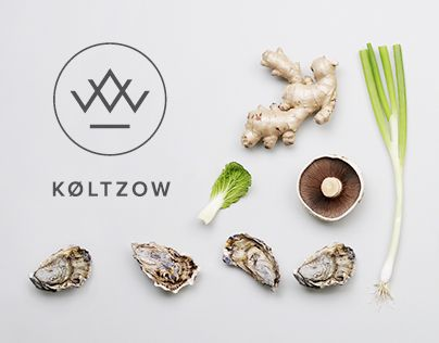 When seafood & fine meats company Køltzow (est. 1913) needed a new identity, it felt like a natural choice to photograph some of their beautiful products and experienced employees. Also, the new symbol reflects the origins of the products; the K of Køltzo…