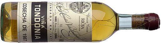 Viña Tondonia White. Perhaps the most amazing barrel-aged white wine in Spain.