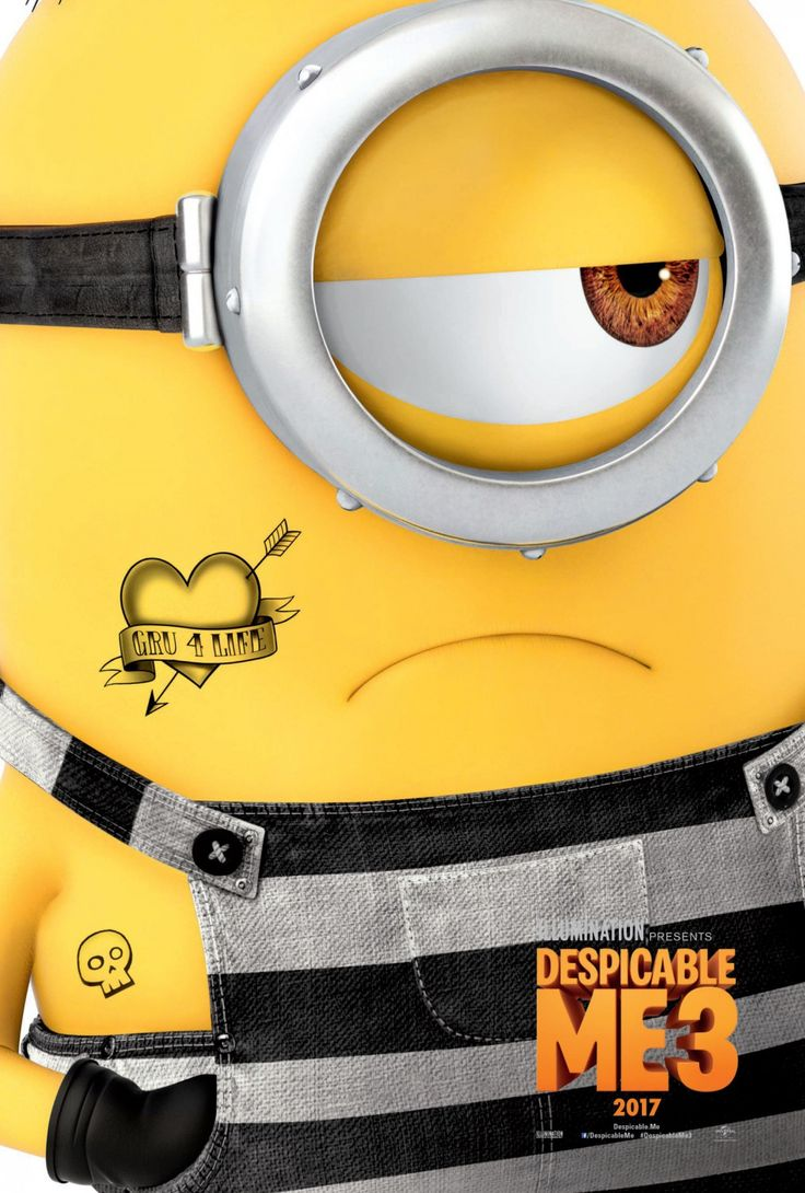 Return to the main poster page for Despicable Me 3 (#9 of 13)