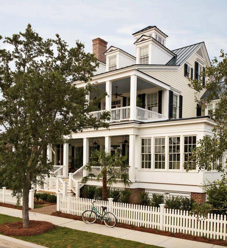 Coastal Stil zu Hause in North Carolina bietet einladende Wohnräume