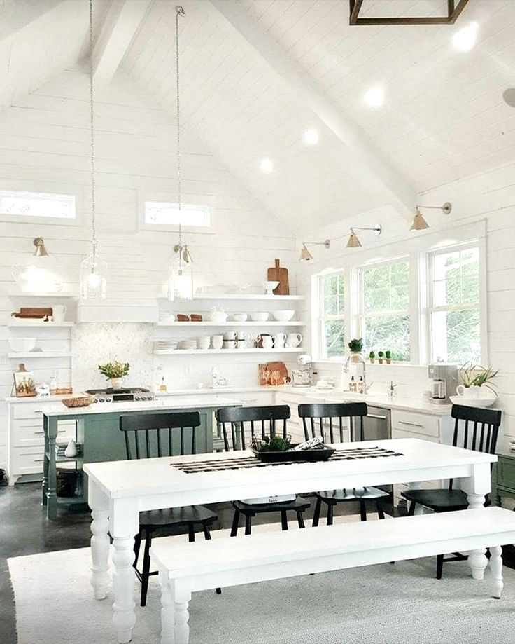 Kitchen Flawless Kitchen Design With Modern And Cool Farm: Best 25+ White Shiplap Ideas On Pinterest