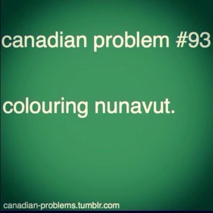 Colouring Nunavut