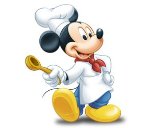 Chef Mickey would be perfect for my kitchen!