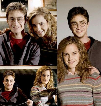 Harry Potter and Hermiona Granger