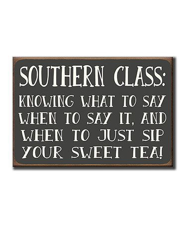 "My ""sister,"" Cajah, is from Georgia. Her sweet tea is so thick from sugar that you go to poor it and it's like sludge. I might be exaggerating...but only a little."