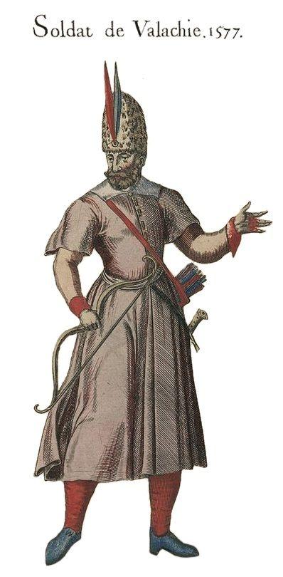 Wallachian soldier, 1577
