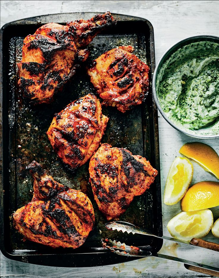 Tandoori-style chicken recipe from I Love India by Anjum Anand | Cooked