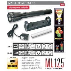 Latarka MAGLITE LED ML125 policyjna wojskowa taktyczna akumulatorowa ładowalna