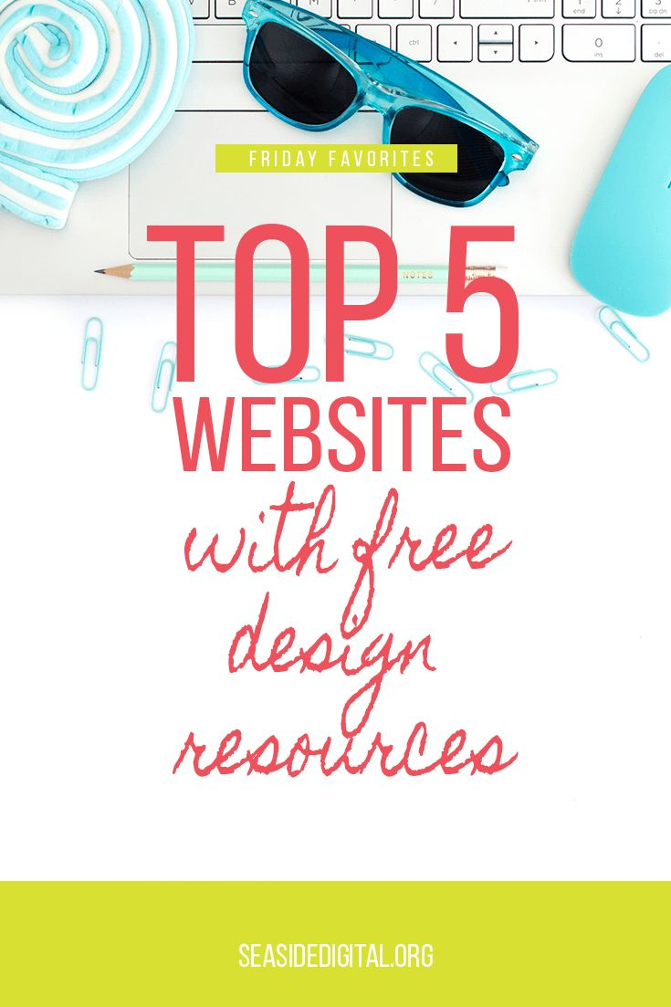 Top 5 Websites with Free Design Resources