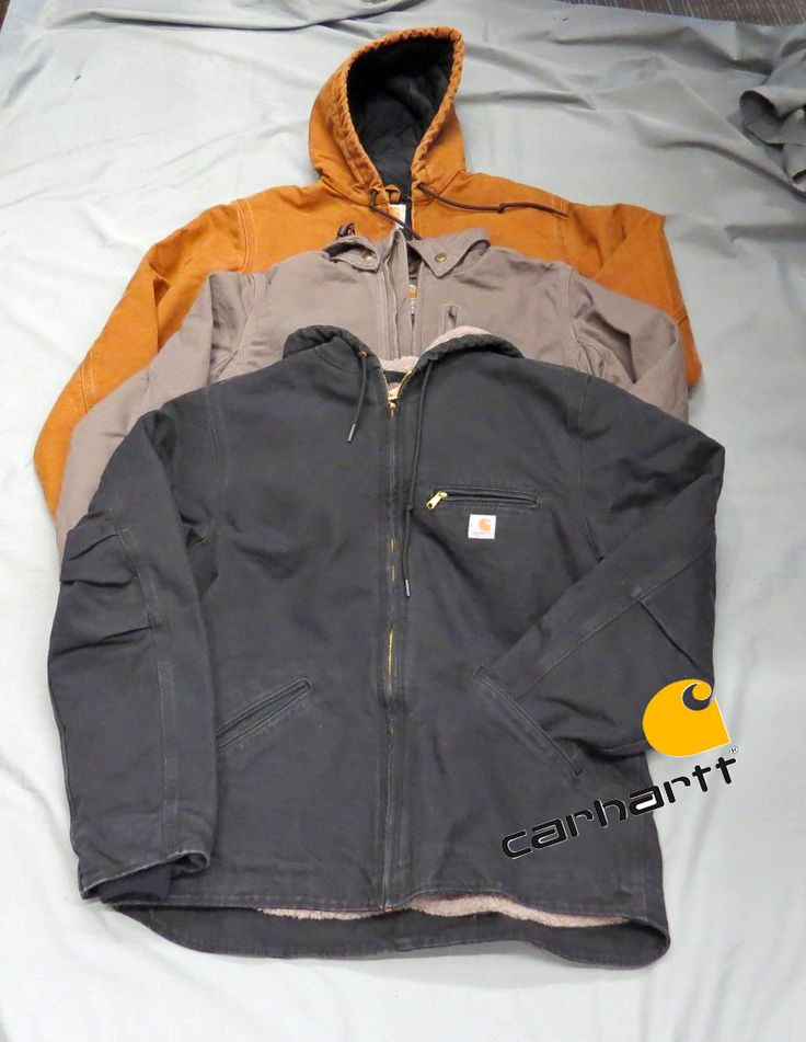 Carhartt's sierra jacket for women is sherpa-lined for added warmth. It's made of 12-ounce, 100% cotton sandstone duck and features princess back seams for a premium fit, built-in bi-swing for ease of movement, interior rib-knit storm cuffs, two inside pockets, attached, three-piece sherpa-lined hood and dropped tail for added coverage. Main seams are triple-stitched for durability.