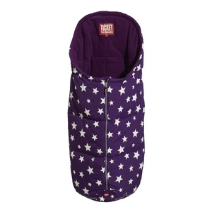 Sleeping bag for babies. Perfect for the pram or baby buggie. Wind-and waterproof. warm down filling.