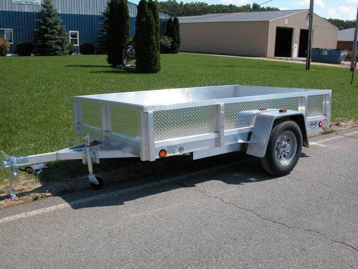 all aluminum utility trailer