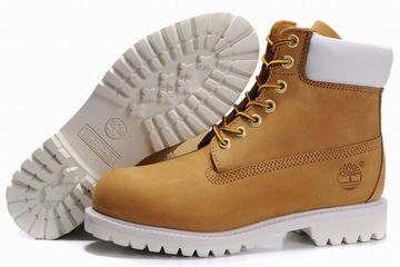 Timberland 6 Inch Premium Waterproof Boot Wheat White Mens