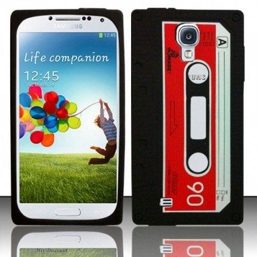 Silicone Cassette Case for Samsung Galaxy S4 i9500