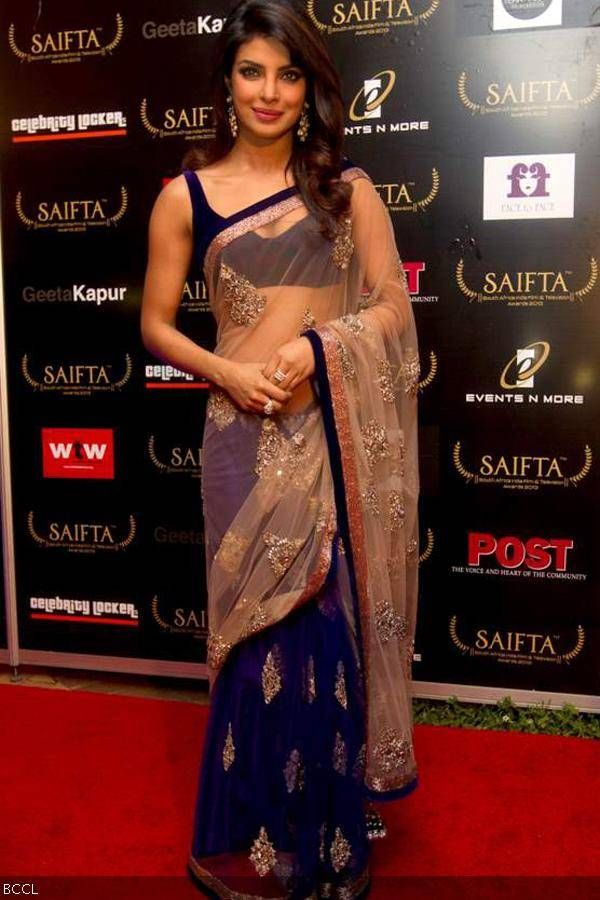 Priyanka Chopra @ Red Carpet, South Africa India Film and Television Awards (SAIFTA), Durban, Sept 6, 2013. (Pic: Viral Bhayani)