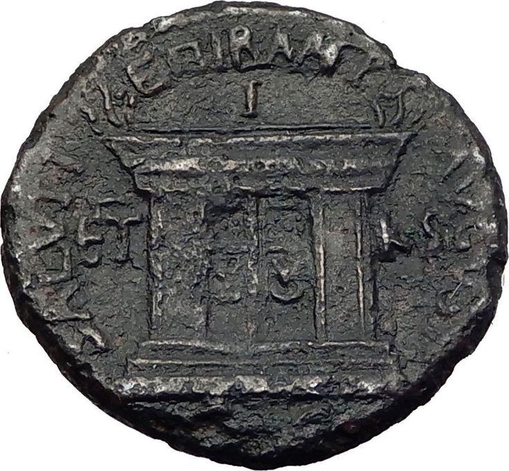 DOMITIAN with Judaea Herodian King AGRIPPA II 85AD Ancient Roman Coin i64020