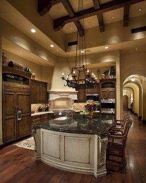 Tuscan Kitchen - mediterranean - kitchen - phoenix - R.J. Gurley Custom Homes