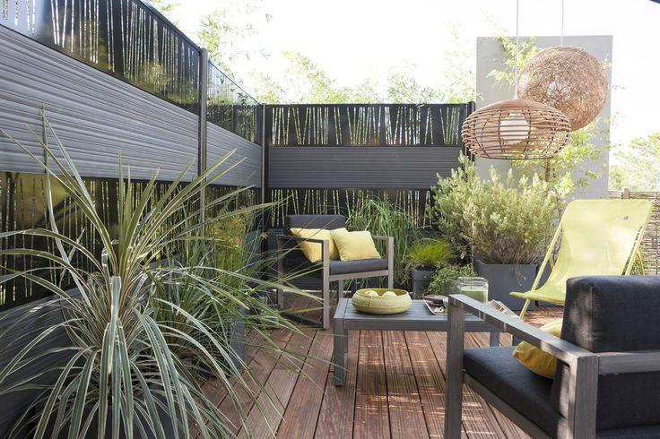247 best images about jardin on pinterest coins terrace and shade screen - Leroy merlin jardin zen brest ...